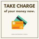 Take charge of your money